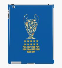 Real Madrid - Champions League Winners iPad Case/Skin