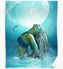 Cool waters Poster