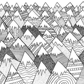Muster Hügel von steveswade