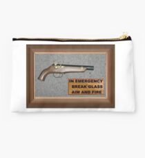 Emergency Flintlock Pistol Studio Pouch