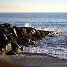Rottingdean Rocks by Michael  Addison