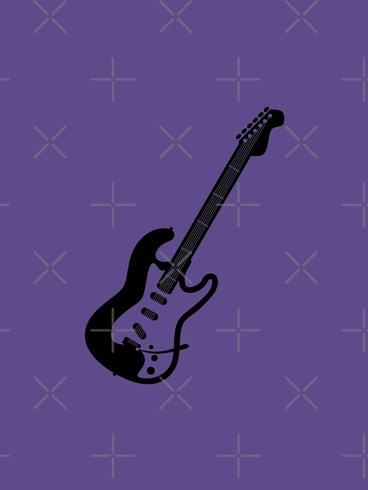 Electric Guitar Silhouette by THPStock