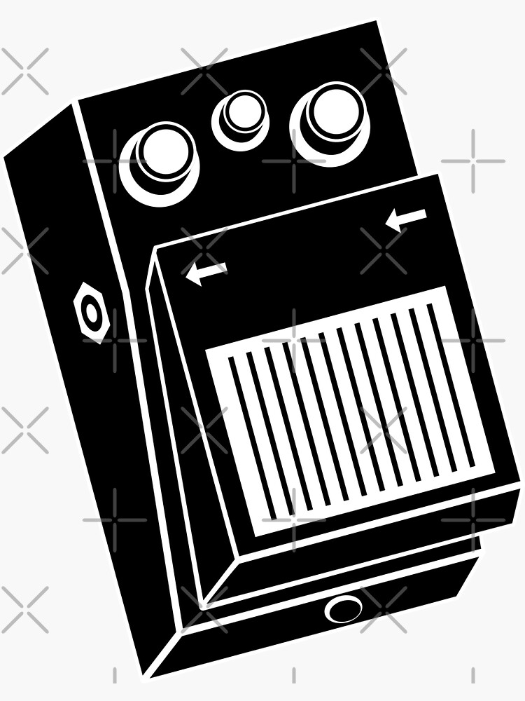 Guitar Effects Pedal by THPStock