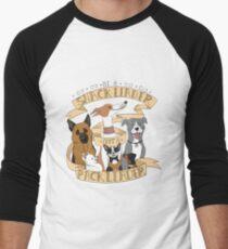 Be A Snack Leader Not a Pack Leader Men's Baseball ¾ T-Shirt