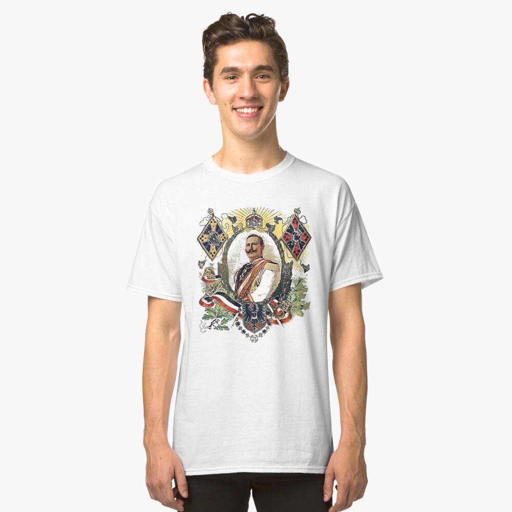 Kaiser Wilhelm II patriotic WWI card Classic T-Shirt