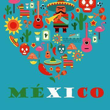 LOVE MEXICO by LisaAlba