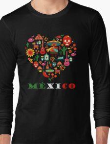 LOVE MEXICO Long Sleeve T-Shirt