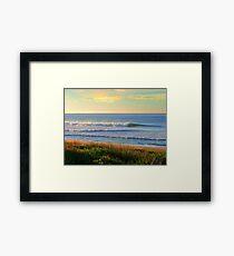 Old Bar Beach,  Framed Print