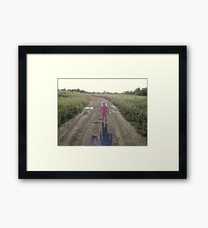 Take Me Home, Country Roads Framed Print
