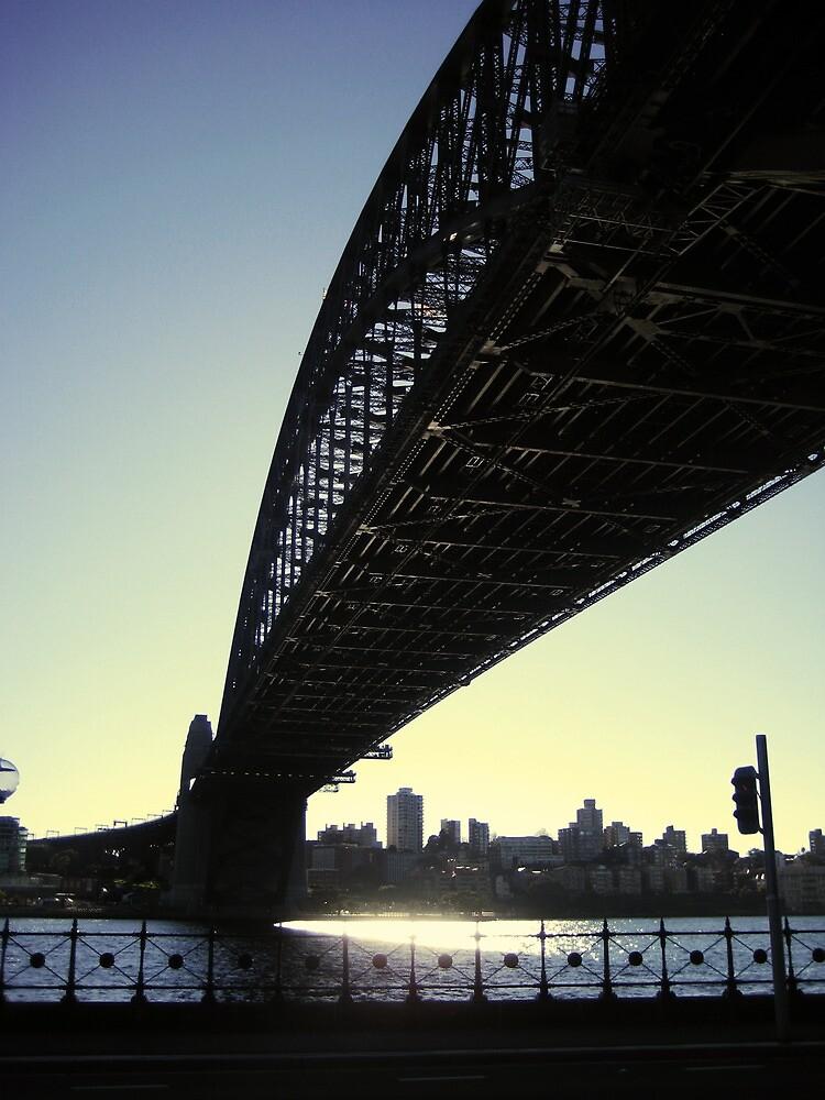 Harbour Bridge, Sydney City by pixelvision