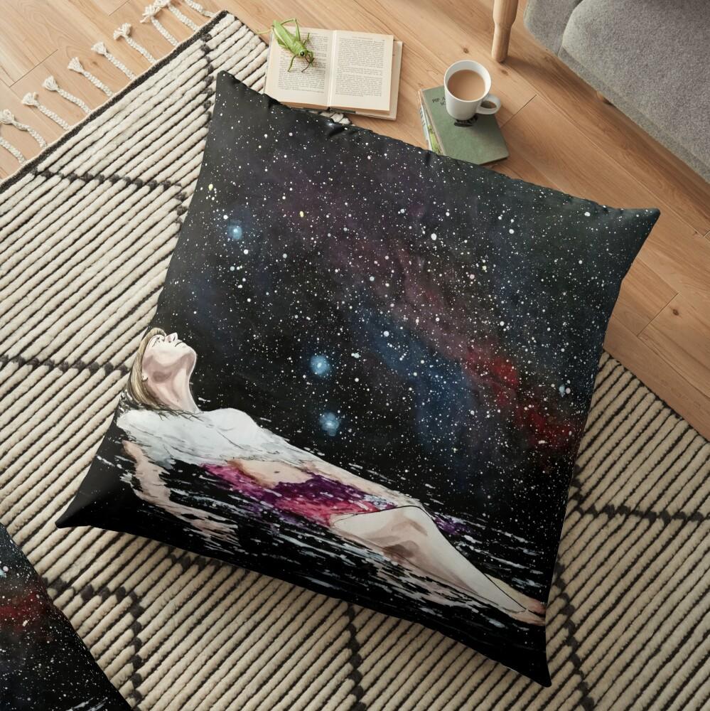 drifting Floor Pillow