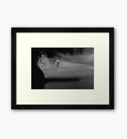 Mono Moods... Framed Print