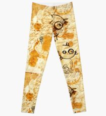 DNA: Off The Top Of My Head Leggings