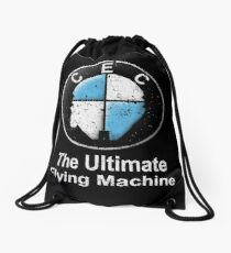 The Ultimate Flying Machine Drawstring Bag