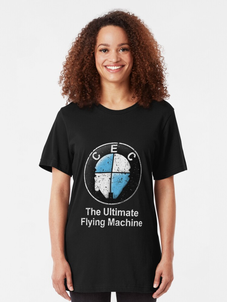 Alternate view of The Ultimate Flying Machine Slim Fit T-Shirt