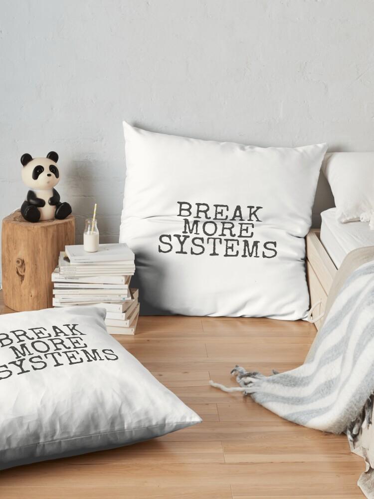 Alternate view of Break More Systems Floor Pillow