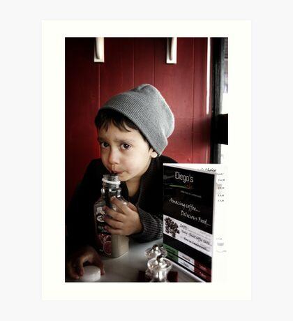 Diego's Cafe` (9) Art Print