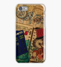 Doctor Who Travel Log  iPhone Case/Skin