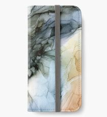 Abstract Southwest Desert Landscape Inspired iPhone Wallet/Case/Skin