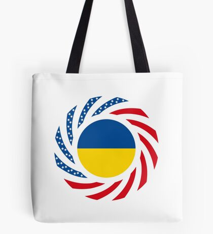 Ukrainian American Multinational Patriot Flag Series Tote Bag