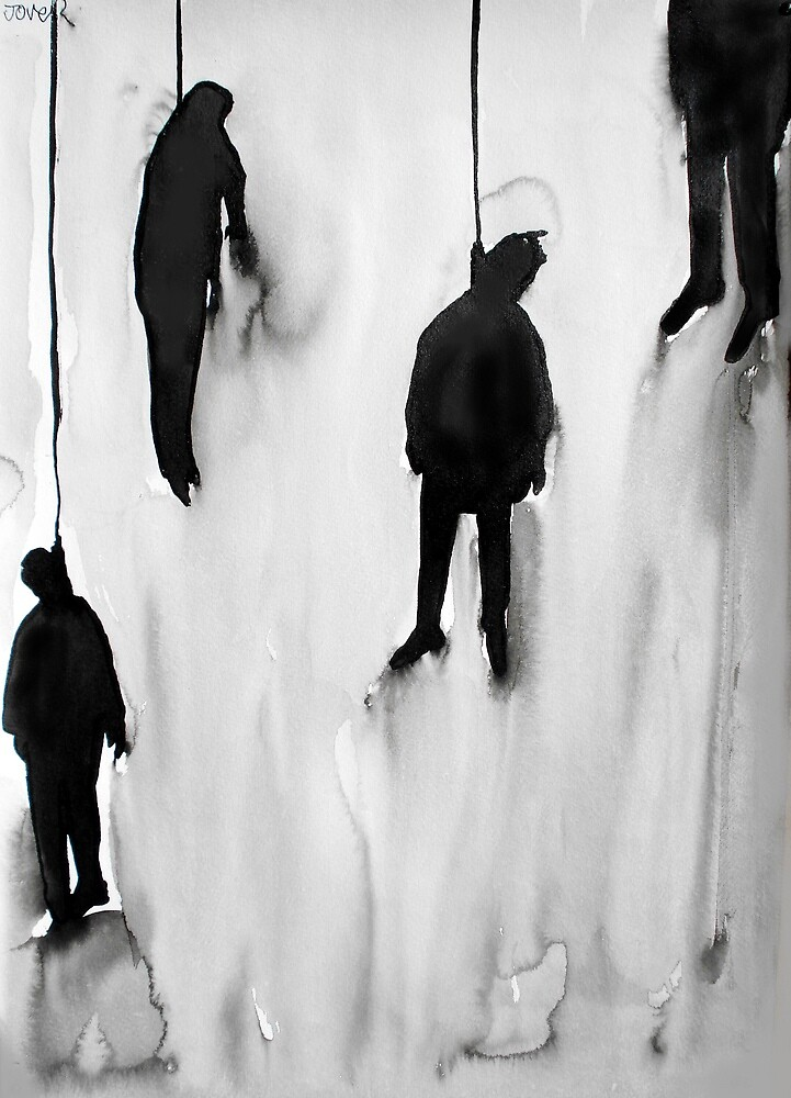 hung by Loui  Jover