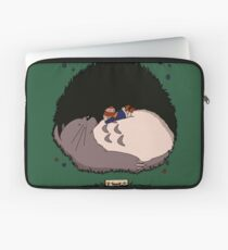 The Girl Who Napped Laptop Sleeve