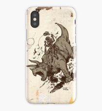 Triceratops CowBot iPhone Case