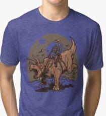 Triceratops CowBot Tri-blend T-Shirt