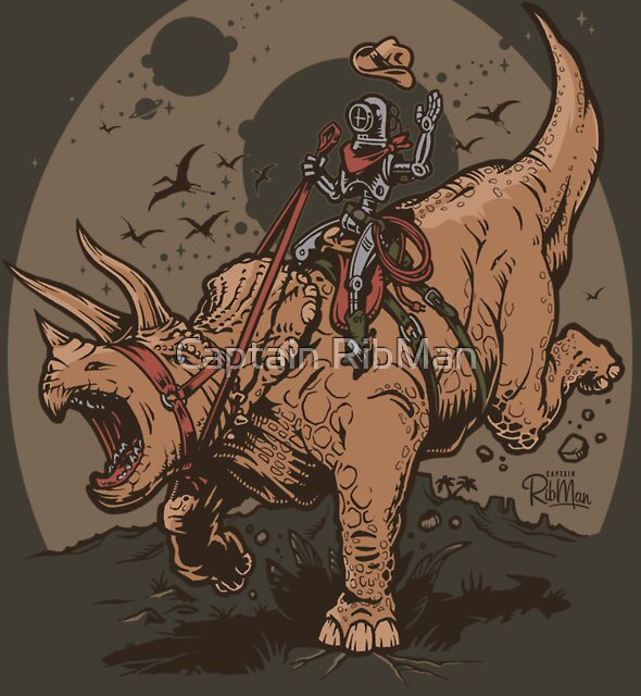 Triceratops CowBot by Captain RibMan