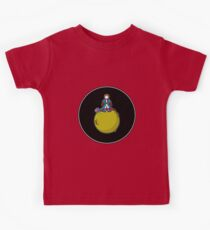Spaceboy on Asteroid (Inspired by The Little Prince) [Big] Kids Tee