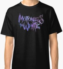 Bewegungslos in Weiß - Voller Wortlaut - Galaxy Print Classic T-Shirt
