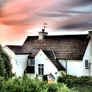 Cottage In The Sky - HDR by Stephanie Hillson