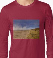 Lisfannon Beach, Fahan, County Donegal, Equirectangular  Long Sleeve T-Shirt