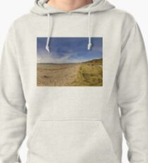 Lisfannon Beach, Fahan, County Donegal, Equirectangular  Pullover Hoodie