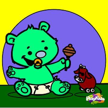 Teddy Bear Play Time by ironman8bp