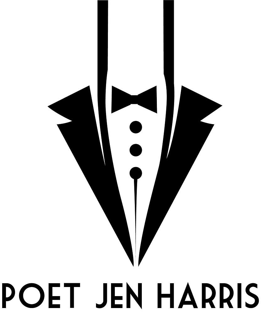Poet Jen Harris Tuxedo Logo by PoetJenHarris