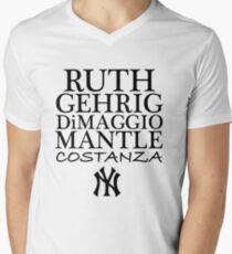 Costanza - Yankees Men's V-Neck T-Shirt