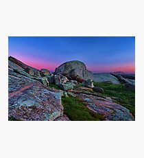 """Dawn At The Rocks"" Photographic Print"