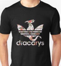 Dracarys Drachenblumen Unisex T-Shirt
