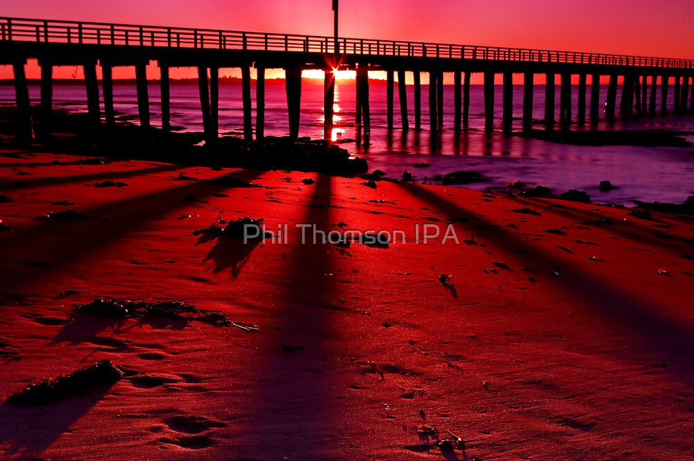 """""""Shadows On The Sand"""" by Phil Thomson IPA"""