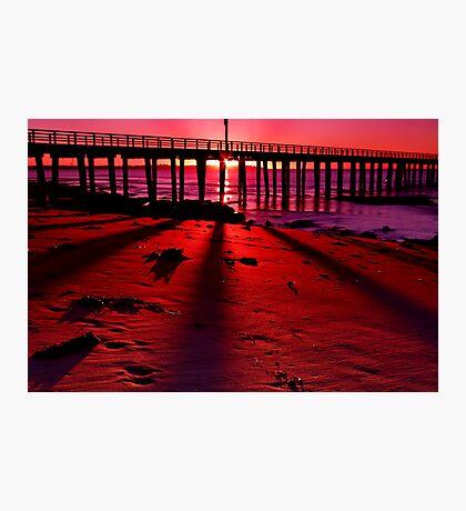 """Shadows On The Sand"" Photographic Print"