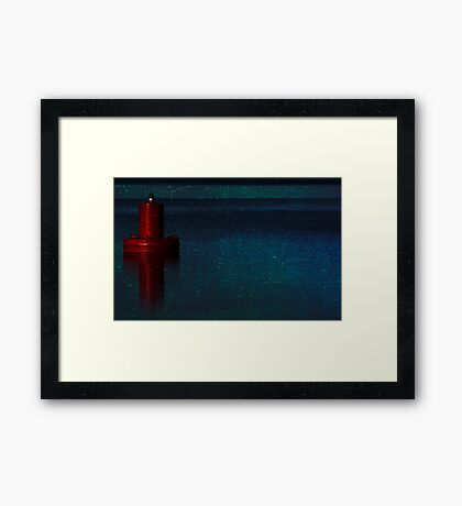 Inclination Framed Print