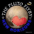 Pluto, New Horizons by ayemagine