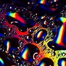 Rainbow Drops by Reza G Hassani