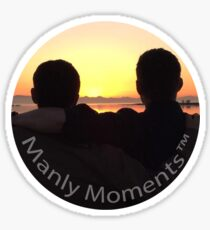 Manly Moments TM Sticker