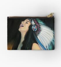 Live Fast. Die Young. Be Wild. And Have Fun. Zipper Pouch