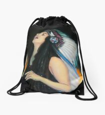 Live Fast. Die Young. Be Wild. And Have Fun. Drawstring Bag