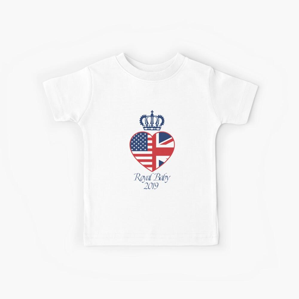 Prinz Harry und Meghan Markle Duke und Herzogin von Sussex Kinder T-Shirt