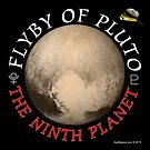 The Pluto Flyby by ayemagine