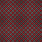 Decorative design ,textile,covers.Red cross. by starchim01